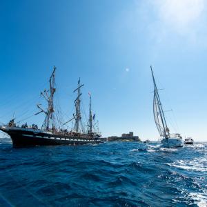 Armada Belem sur l'eau