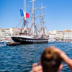 Belem au port de Marseille