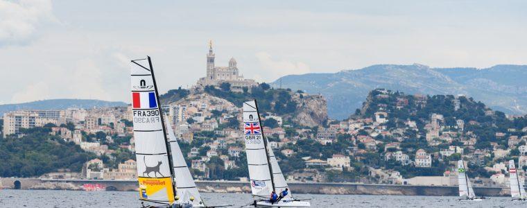 Voile à Marseille