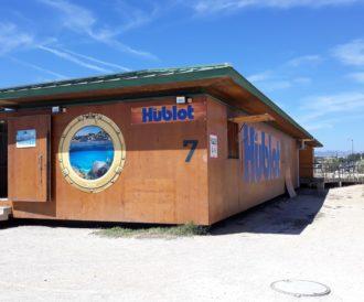 Hublot le nouvel espace sur les plages
