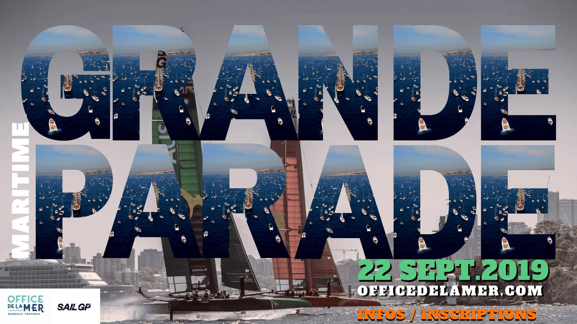 affiche grande parade maritime